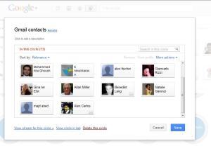 Google+ Circle