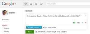 Google+ Status